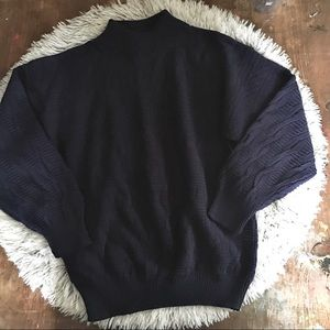 NWT VINTAGE NAVY SWEATER